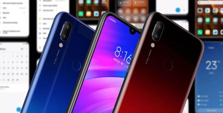 Xiaomi nos vuelve a sorprender y actualiza a MIUI 12.5 al veterano Redmi 7