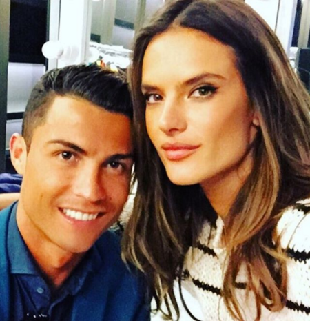 Cristiano Ronaldo y Alessandra Ambrosio