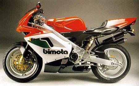 Bimota Vdue 500, el dos tiempos que casi hunde Bimota