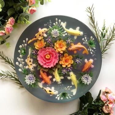 Estas gelatinas con decoración en 3D son tan increíbles que te resistirás a comerlas