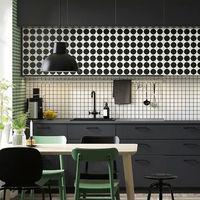 Las nuevas cocinas de Ikea se llenan de color y de estampados gráficos setenteros