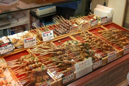 Yakitori In Store By Sunday Driver In Kyoto