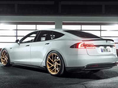 Novitec le metió mano al Tesla Model S y lo dejó pareciendo un verdadero auto deportivo