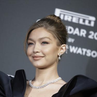 Gigi Hadid y Laetitia Casta arrebatadoras en la presentación del Calendario Pirelli 2019 celebrada en Milán