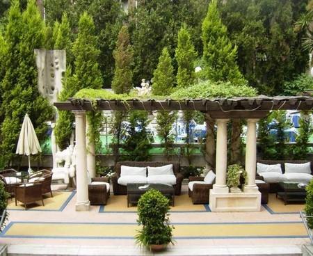 El nuevo jardín del Hotel Miguel Angel