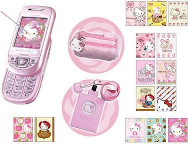 Otro móvil de Hello Kitty