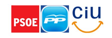 El tripartito proSinde (PSOE, PP y CiU) ataca de nuevo