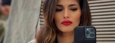 Sara Sálamo inaugura el otoño con flequillo nuevo, el corte de pelo más demandado por las famosas en 2021