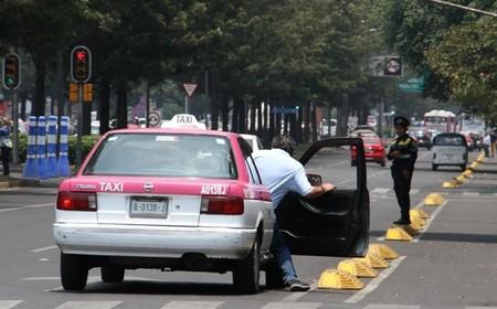 Los taxis de la CDMX contarán con botón de pánico