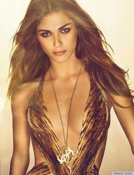 Elisa Sednaoui, top model, tigresa y nueva imagen de las fragancias de Cavalli