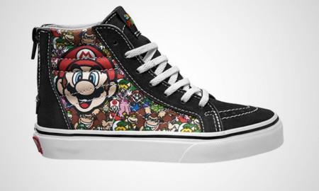 Este verano podrás fardar por la calle con estas deportivas de Mario, Zelda o Donkey Kong