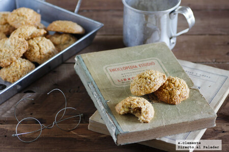 Carajitos del profesor: receta tradicional asturiana de unas crujientes galletas con solo tres ingredientes