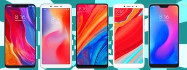 Xiaomi Mi A2 y Mi A2 lite, así encajan dentro del catálogo completo de smartphones Xiaomi en 2018