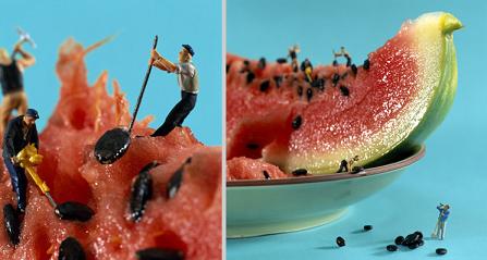 Akiko Ida y Pierre Javelle nos muestran la fusión entre la fotografía y la gastronomía de un modo muy peculiar en Minimian