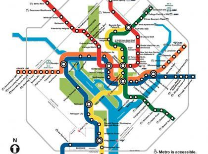 WAS metro map