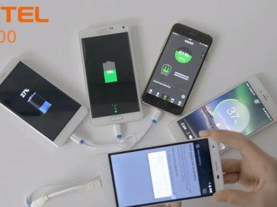 Oukitel permite cargar otros dispositivos con sus smartphones de gran capacidad
