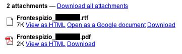 GMail: Abriendo documentos de textos adjuntos con Google Docs