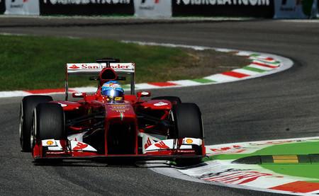Fernando Alonso realiza una sólida carrera hasta la segunda posición