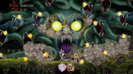 Ghosts 'N Goblins Resurrection revela con su nuevo tráiler lo desafiante que será con sus cuatro niveles de dificultad
