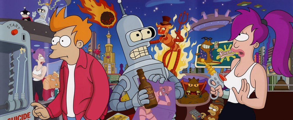 20 years of 'Futurama': one of the best series in the history of television