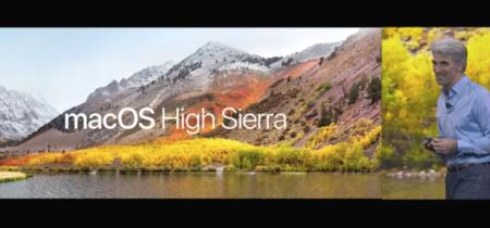 Todas las novedades de macOS High Sierra en la WWDC17