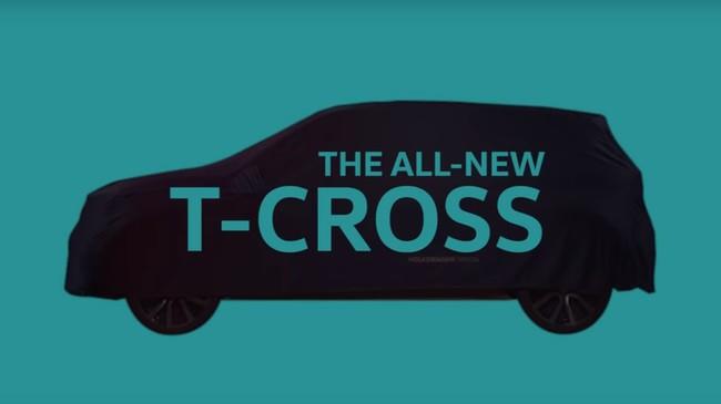 El Volkswagen T-Cross se deja ver un poco más en un nuevo teaser, y será un coche con estilo propio