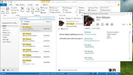 La nueva versión de Skype se integra con Outlook facilitanto el uso de la videoconferencia