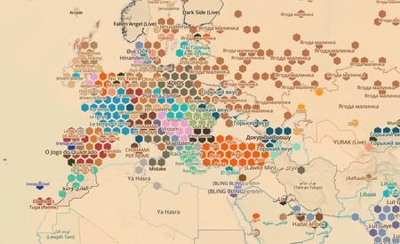 El mundo es una cornucopia: el mapa interactivo para conocer los éxitos musicales de cada ciudad