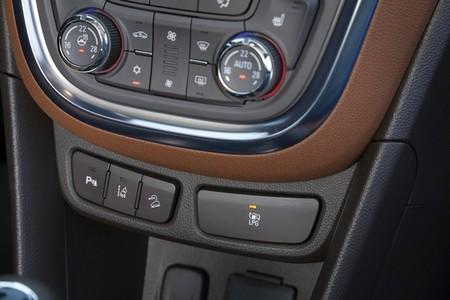 Botón GLP de Opel Mokka