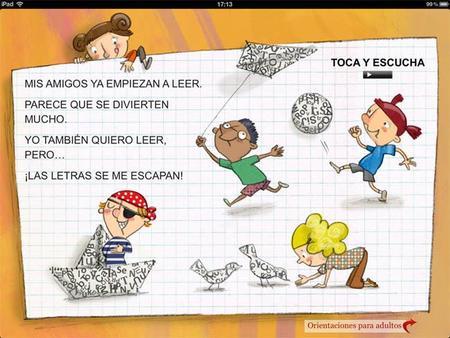Las letras y yo: cuento interactivo sobre la dislexia para el iPad