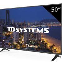 Añadir una segunda TV a tu hogar sólo te costará 219 euros con la TD Systems K50DLP8F de AliExpress Plaza y el cupón ALITOP10