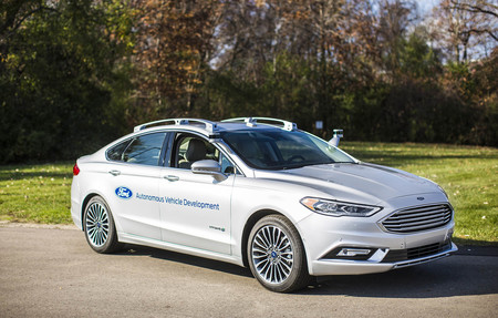Ford Fusion Hybrid Autónomo 2017