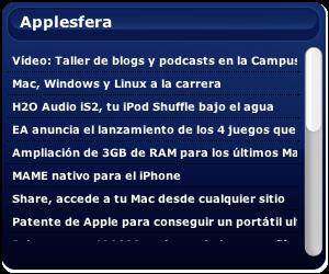 applesfera widget