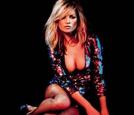 ¿Cómo irá vestida Kate Moss en Navidad?