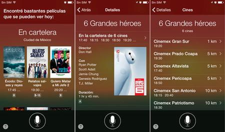 Siri Cine Mexico