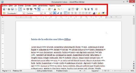 Edición de textos con Libre Office 4.0
