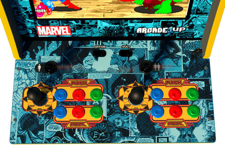 Capcom Marvel Super Heroes Home Arcade 1