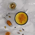 Cómo hacer golden milk o leche dorada. Receta reconfortante con opción vegana
