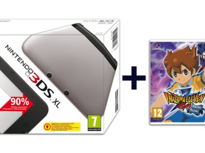Nintendo 3DS XL + Inazuma Eleven Go Sombra por 169 euros