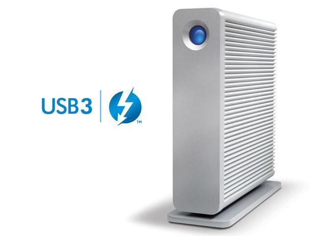 LaCie d2 USB 3.0 y Thunderbolt