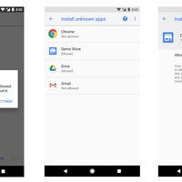 Android Oreo: Instalar aplicaciones desde fuera de Google Play requiere de permiso