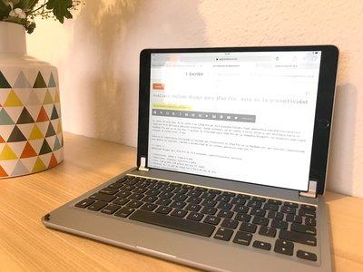 Análisis teclado Brydge para iPad Pro: esta es la productividad que necesitábamos