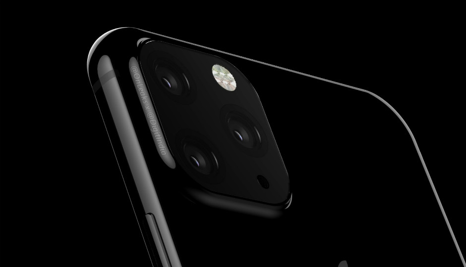 Tres lentes en una grande cámara trasera: este podría ser el <strong>iPhone℗</strong> de 2019 según OnLeaks &#8220;>     </p> <div class=