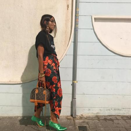 Así son los zapatos verdes de Zara que amarás y odiarás a partes iguales