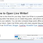 Ya está disponible Open Live Writer en la Windows Store