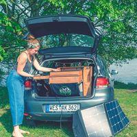 Tu coche también puede ser una camper gracias a esta cocina de ElloCamping, que puede cargarse con energía solar