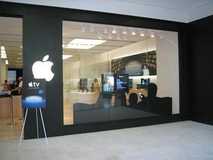 La publicidad del AppleTV llega a las Apple Stores