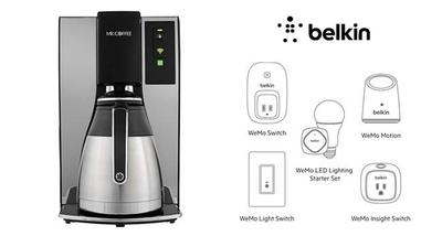 Mr Coffee Smart Coffeemaker y su integración con WeMo de Belkin