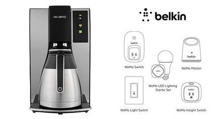 Mr Coffee Smart Coffeemaker y su integración con WeMo de Belkin