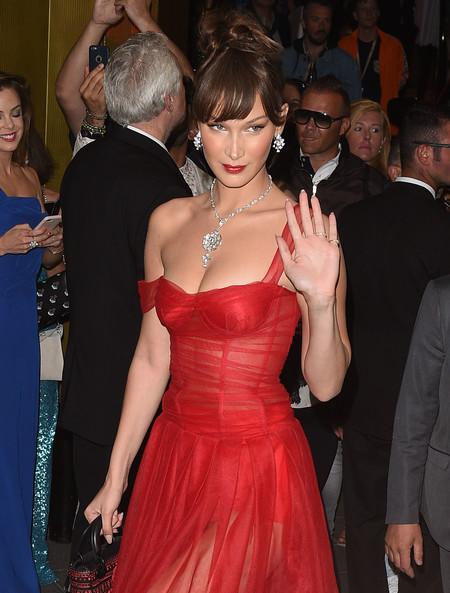 Bella Hadid deslumbra con su look de fiesta en el Festival de Cannes 2018
